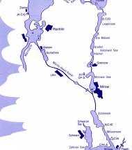 Mirow - Diemitz - Schwarz und zurück (30 km)